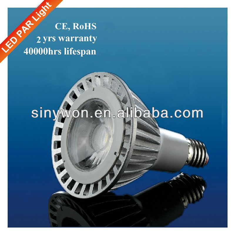 SYW 2013 supernova sale e27 9W cob light 100-277v led par light par38