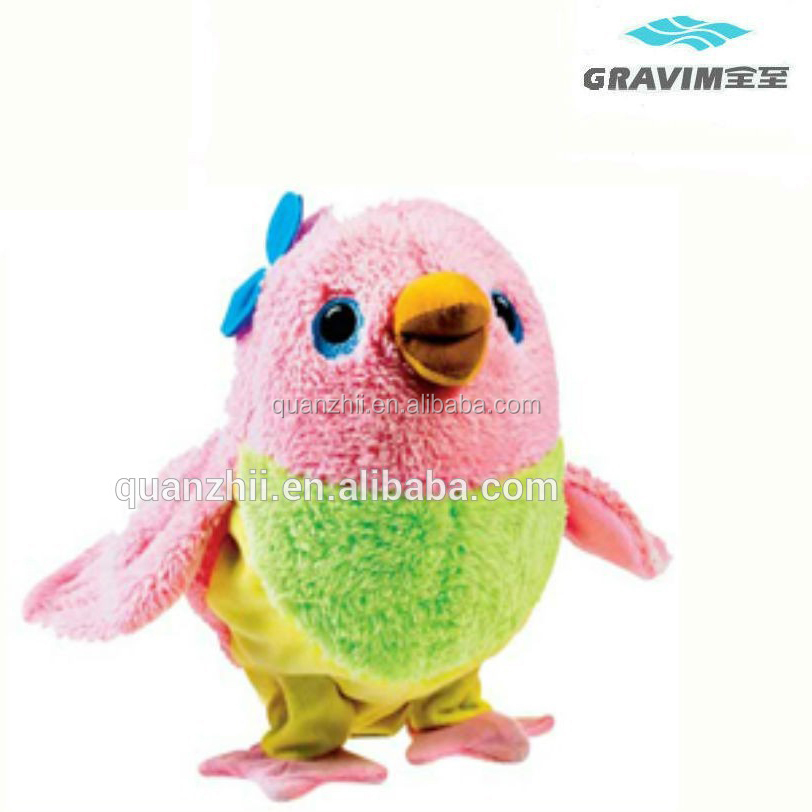 Promotional product tweety bird plush toy with child