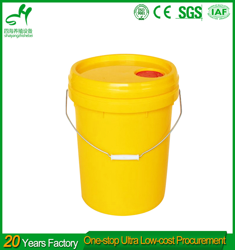 Large capacity 100 liter plastic bucket with handle water storage containter