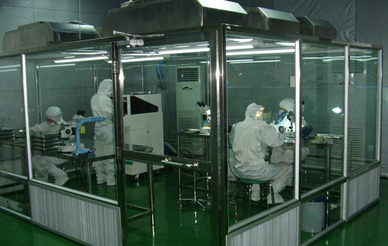 acrylic strip curtain clean room for air project engineering