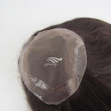 Natural Straight European Human Hair Jewish Synthetic Wig