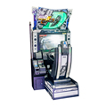 Coin operated game machine/racing car simulator/Initial D version8