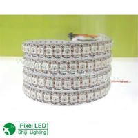 Addressable WS2812 flexible smd5050 rgb led strip for carnival light
