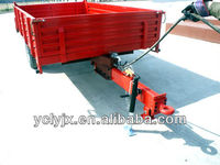 Hot choice two wheel single alx trailer for sale
