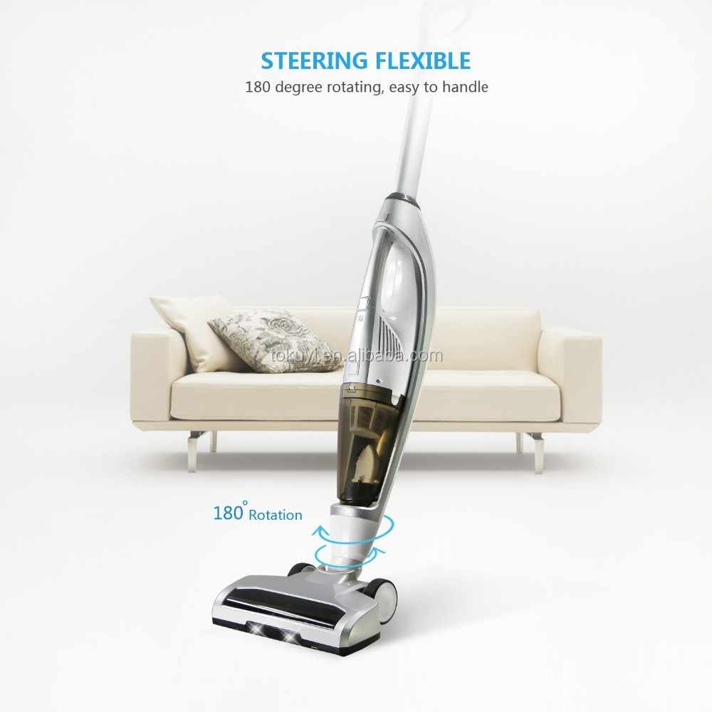 2017 Latest Bagless Corded 3-in-1 Hand and Stick Vacuum Cleaner Mopping, Cyclonic Technology Wet and Dry Stick Vacuum Cleaner