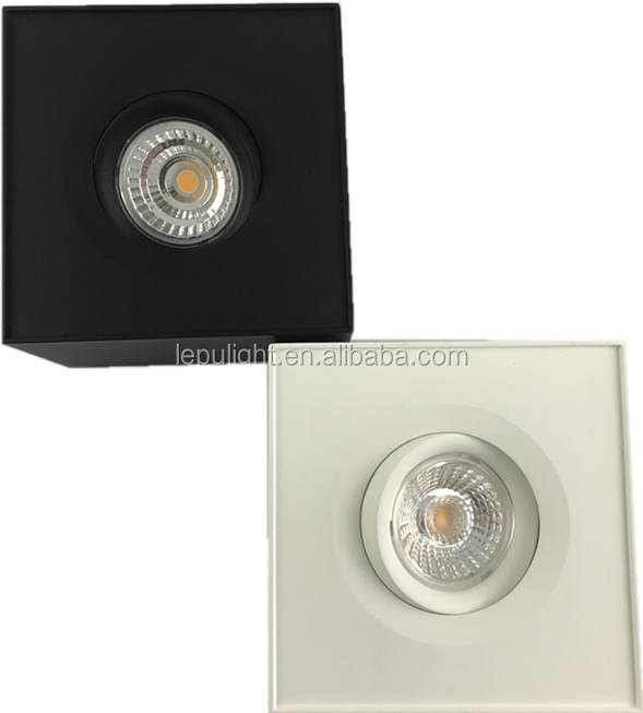 2018 Lepu private design dimmable led surface mount ceiling downlight 92RA traic dimming AcTEC driver