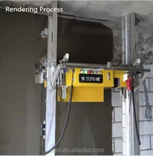 Tupo-8 Automatic Wall Cement Rendering Machine small home production machinery home industry machinery