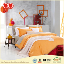 Queen Size Factory Direct Bed Linen Pure Cotton Fabric Hypo-Allergenic Hotel Bedding Duvet Cover Set