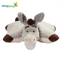 alibaba Customize plush cushion bear cushion plush pillow & toy