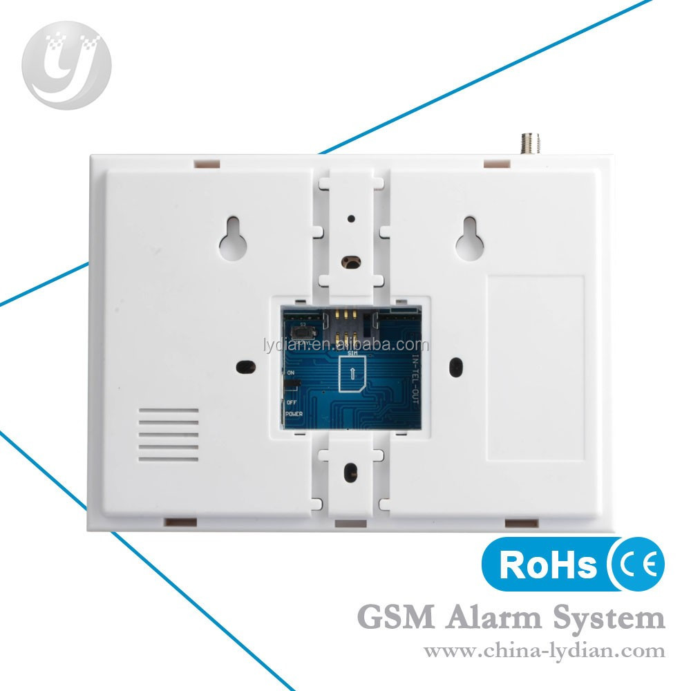 Wholesale low price high quality heiman long range wired for Buy house alarm system