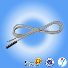 Hot sale thin film ntc thermistor temperature sensor with stainless steel