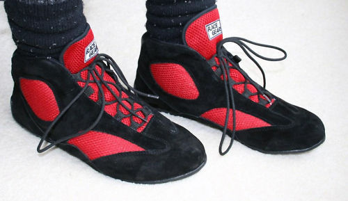 RACE GEAR karting boots Red/black Go Kart Racing/ Go Kart Boots Racing Shoes Black/free balaclava