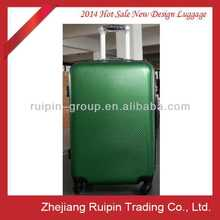hot sale green pc colorful luggage carrier
