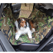 Well-designed Waterproof Durable Qulited Camo Hammock Car dog Seat Cover Dog Pet Products