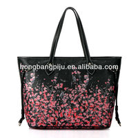 Nice looking fashion lady handbags,tote handbags custom small MOQ