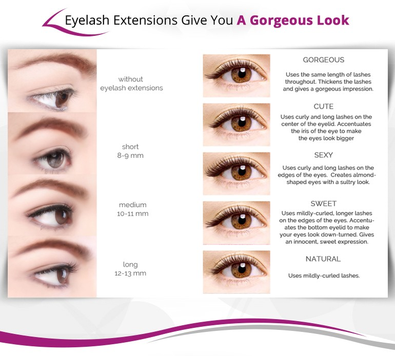 Individual silk eyelash extension private label lashes