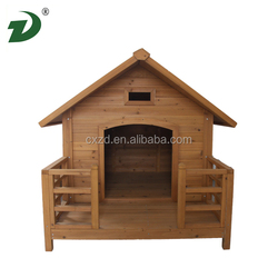 2014 New Design Cheap Large Wooden Dog House With Porch