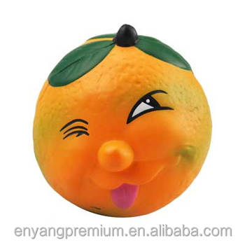 Sour Orange PU stress ball Gift Souvenir