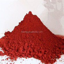Red color pigment Iron oxide with good performance