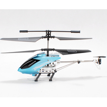 3CH 2.4G Alloy helicopter with gyro - two speeds and light control, basic helicopter