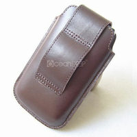 New arrival Belt Clip style Leather Pouch cover Case For Apple Iphone 4
