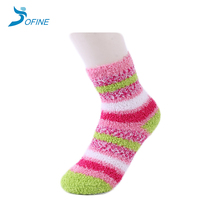 Custom Soft Warm Winter Coral Fleece Women Socks