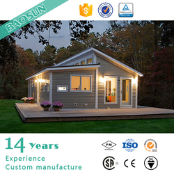 Iprefab Ready Made One Bedroom Prefabricated House Morden Small House Design
