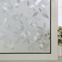 Frosted Embossed Decorative Window Film PVC