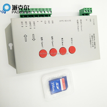 T-1000S SD card programmable LED controller for digital led strip, LED pixel module light