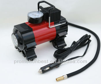 Car air compressor /DC 12v air compressor 12v Car Air Compressor Air Pump With Light