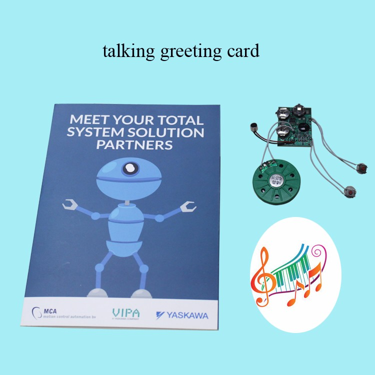High quality customized funny music greeting cards for business