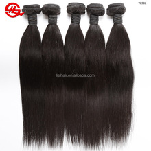One Doner No Mixed Grade 9A Virgin Human Brazilian Hair From Brazil