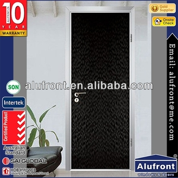 Modern Type Interior PVC Flush Bedroom Door Design