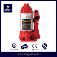 2T Red Small Hydraulic Bottle Jack