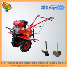 7.5hp Gasoline farm Garden manual plow functions of the disc plough