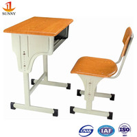Government bid school furniture student desk and chair