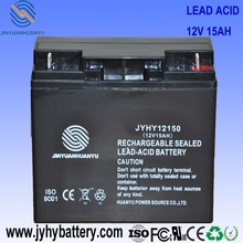 12V 14ah Battery,20hr 24V 15AH MF Rechargeable Deep Cycle Battery for Solar Energy System