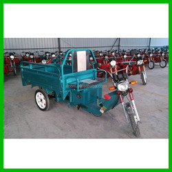 Open Body Type Three Wheel Electric Tricycle Cargo
