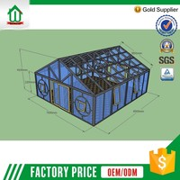 Sales Promotion Lowest Cost Custom Garden Glass House
