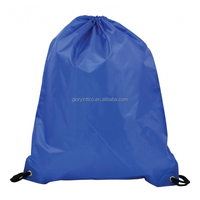 eco friendly plastic mesh backpack drawstring bag waterproof foldable bags