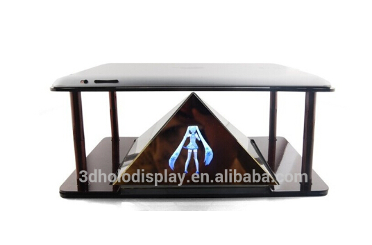 Mini Hologram Pyramid for Smartphone, DIY 3D Holographic Projection