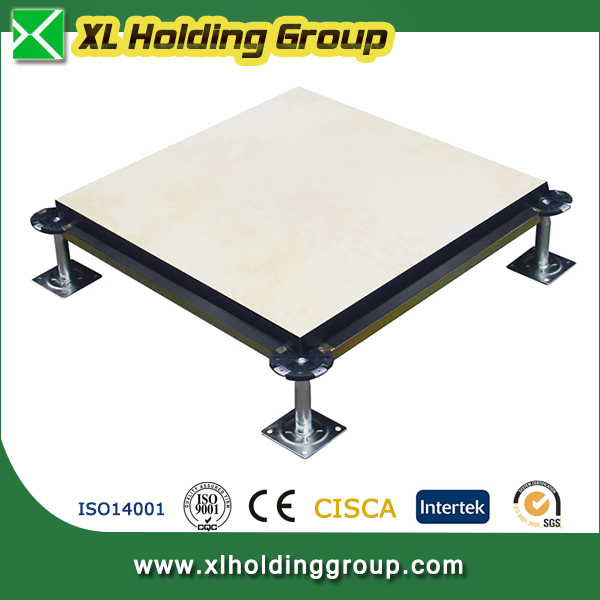 antistatic office encapsulated woodcore raised flooring