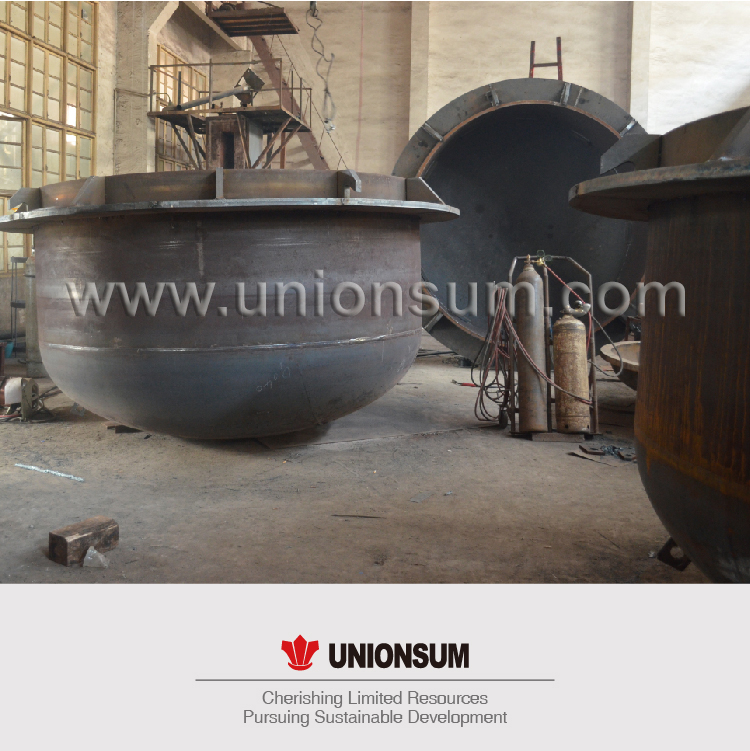 smelting pot/kettle for Lead smelting plant