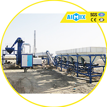 CE certified 40T/H mini mobile drum asphalt mixing plant asphalt batch plant price for sale