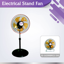New invention SS-1620RBRG2-5AS household oscillation 2in1 electrical stand fan