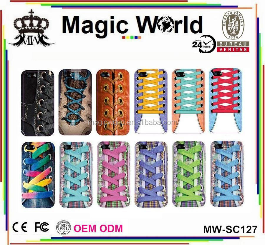 shoelaces popular tpu funny mobile phone covers for iphone