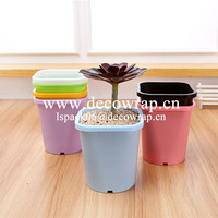 Garden decoration plastic flower pot