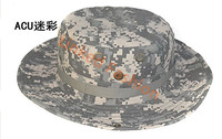 ACU Military Boonie Hat camouflage military cap hat embroidered military caps and hats