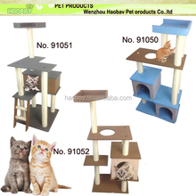 New designed thick terry/felt fabric pet furniture cat product