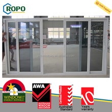 Made in China PVC frame Double Glazed balcony sliding glass door